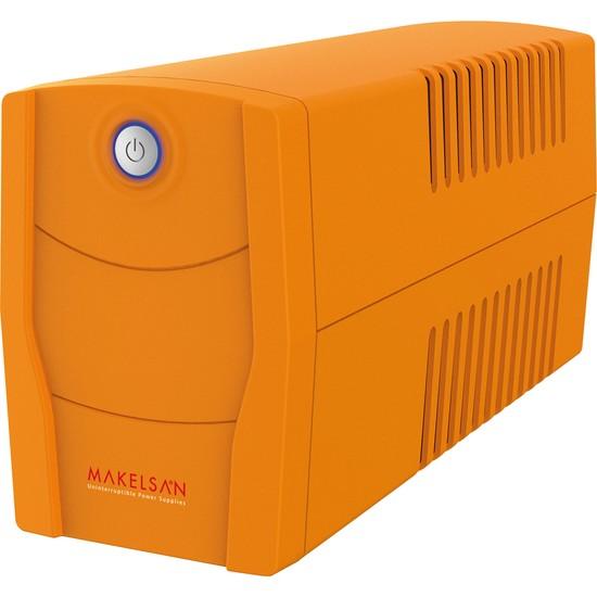 Makelsan Lıon X 650Va Usb (1X 7Ah) 5-10Dk + Tkz-63A Kablo + Tkz Pad