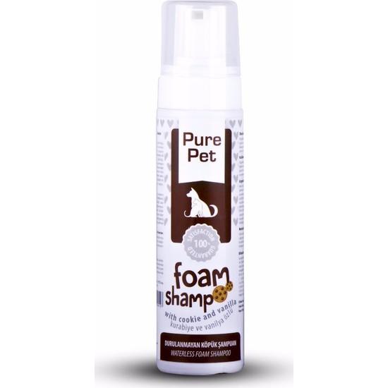 Pet Love Eco Durulamasız Kuru Köpük Şampuanı Cookie&Vanilya 225Ml