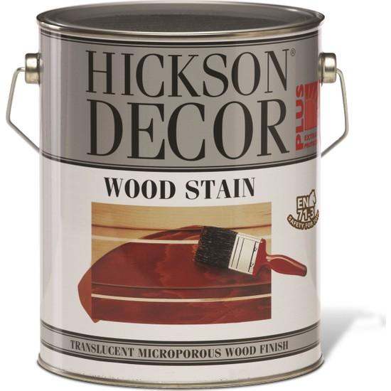 Hickson Dekor Plus Wood Stain Natural 5 Lt Ahşap Boyası Sovent Bazlı