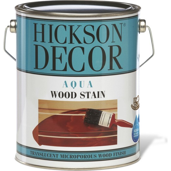 Hickson Dekor Aqua Stain Calif 2,5 Lt Ahşap Boyası Su Bazlı