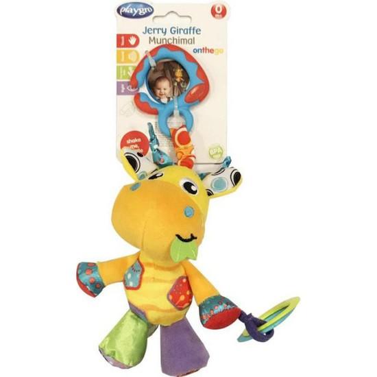 Playgro Munchimal Peluş Aktivite Oyuncağı - Zürafa