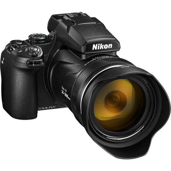 Nikon Coolpıx P1000 Black (Karfo Karacasulu Garantili)