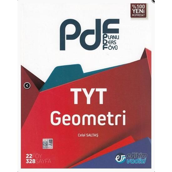 Eğitim Vadisi Yayınları TYT Geometri Planlı Ders Föyü (PDF)
