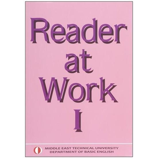 Reader At Work 1 Odtü Yayınları - 2018 Ekim Güncellenmiş Son Baskı