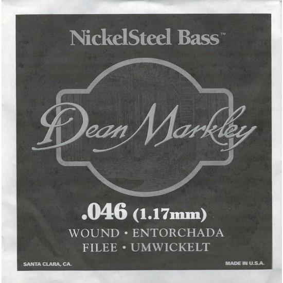 Dean Markley Nickel Steel Bass .046 Bas Gitar Tek Tel