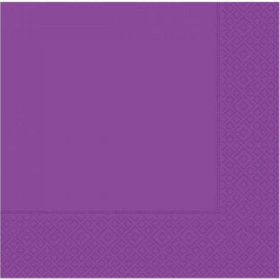 KBK Market 20 Adet Kağıt Peçete Mor Renk