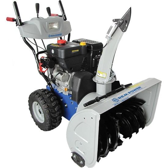 Rem Power STEm 13070 E Benzinli Kar Küreme Makinası