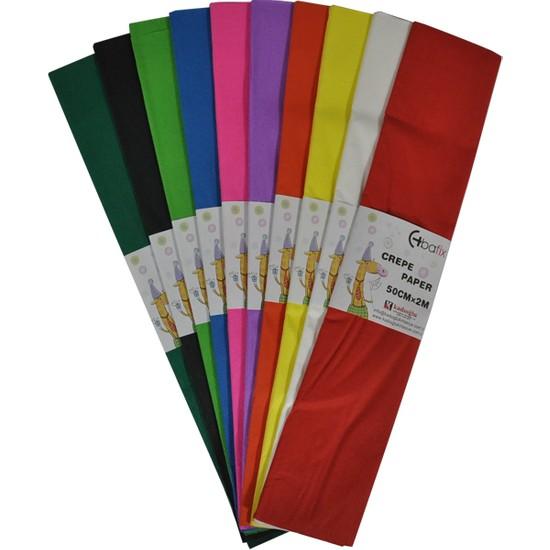 Bafix Krepon Kağıdı Beyaz 80972 10 Lu (1 Paket 10 Adet)