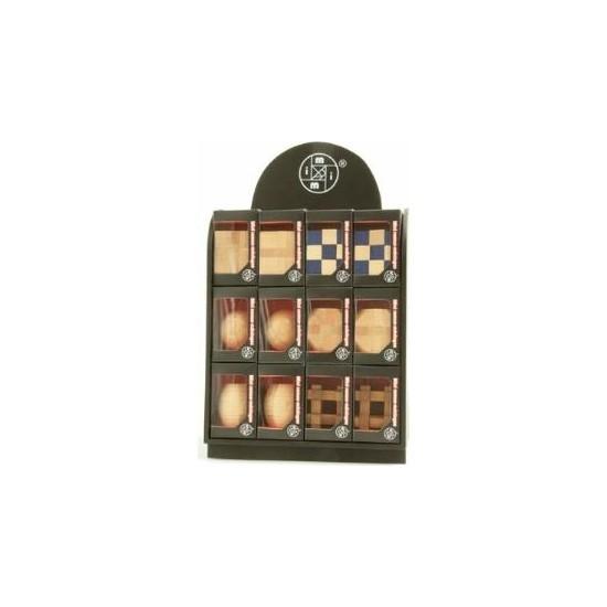Juno Ahşap Puzzle 3D 24 Lü Set Mt6871