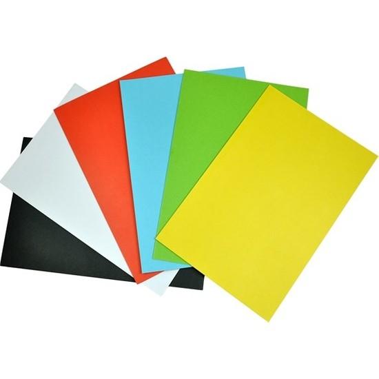 Türkoğlu Renkli Mukavva 35X50 Cm Karışık 1,0 Mm 36 Lı (1 Paket 36 Adet)
