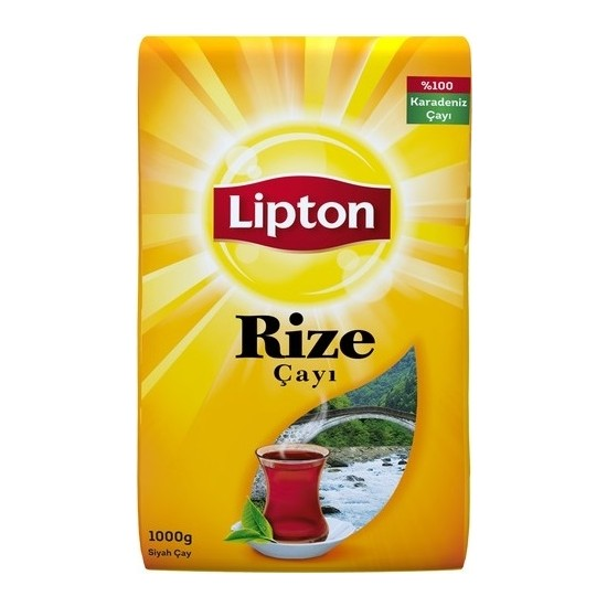 Lipton Rize Siyah Dökme Çay 1000 GR