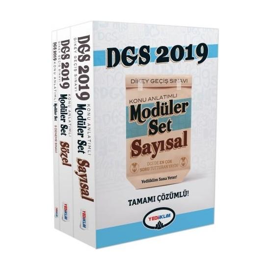 Yediiklim Yayınları 2019 DGS Konu Anlatımlı Modüler Set