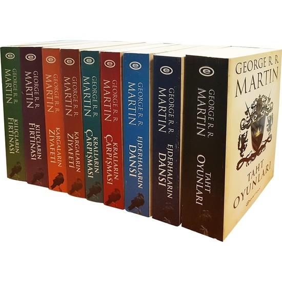 Taht Oyunları Game of Thrones Özel Kutu (9 Kitap) - George R. R. Martin