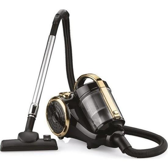 Goldmaster Gm 7560 Gold Black Elektrikli Süpürge