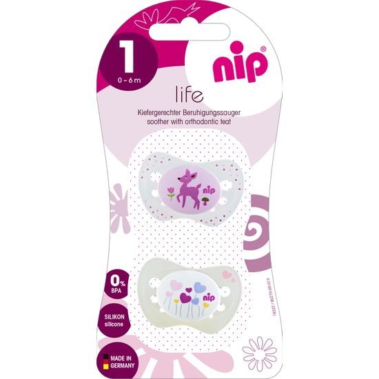 Nip Life Silikon Emzik 0 - 6 Ay