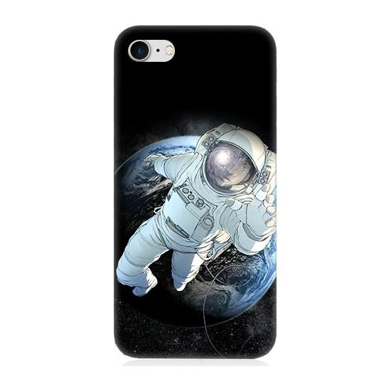 Teknomeg Apple iPhone 7 Astronot Desenli Tasarım Silikon Kılıf