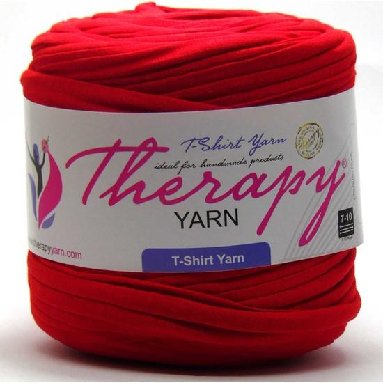 Therapy Yarn 200 Kırmızı Penye İp