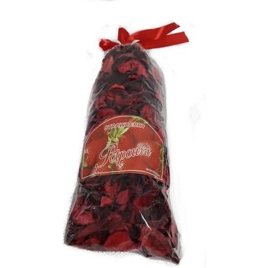 Parti Dolabı 300 Adet Gül Yaprağı Kırmızı Romantik Kuru Gül Yaprakları