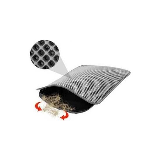 Mia Pet Elekli Kedi Tuvalet Önü Paspası 60 x 45 cm