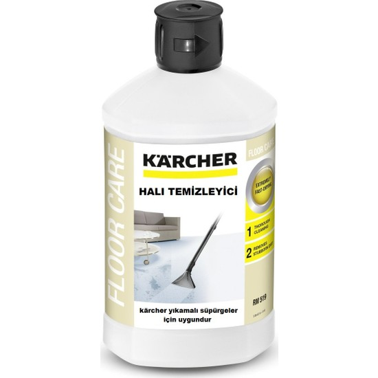 Karcher Se 6100 SE 5100 Halı Yıkama Makinesi İçin RM 519 Sıvı Temizleme Deterjanı Şampuan