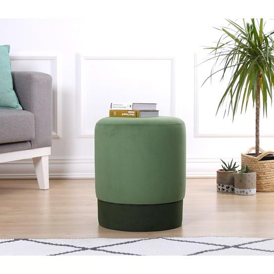 Lorence Home Ropp Puf - Yeşil