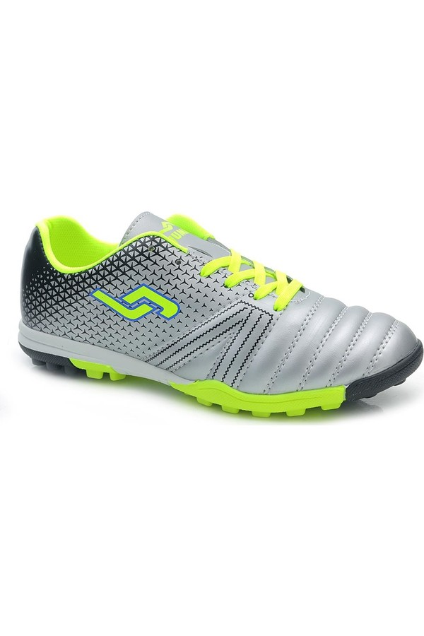 Jumpin Neon Silver AstroTurf Football Sports And Shoes