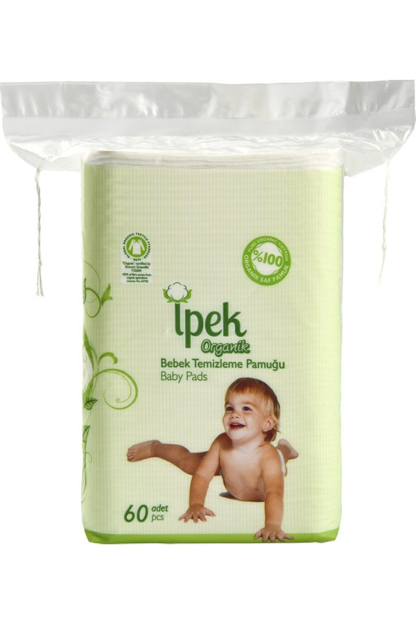 Silk Organic Cotton Baby Cleaning 60s