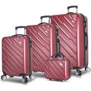 66cc159d4b3d5 My Valice Premium Abs 4'Lü Travel Valiz Seti Gold Fiyatı