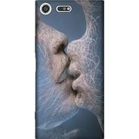 Cekuonline Sony Xperia XZ Premium Desenli Esnek Silikon Telefon Kapak Kılıf - Dijital Aşk