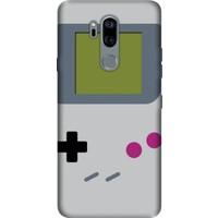 Cekuonline LG G7 ThinQ Desenli Esnek Silikon Telefon Kapak Kılıf - Game Boy