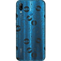 Cekuonline Huawei P20 Lite Desenli Esnek Silikon Telefon Kapak Kılıf - Kaset