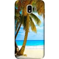 Cekuonline Samsung Galaxy J4 (2018) Desenli Esnek Silikon Telefon Kapak Kılıf - Beach
