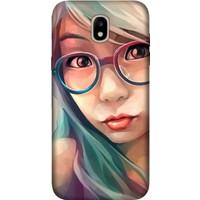 Cekuonline Samsung Galaxy J7 Pro J730 Desenli Esnek Silikon Telefon Kapak Kılıf - Anime Life