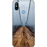 Cekuonline Xiaomi Mi A2 Desenli Esnek Silikon Telefon Kapak Kılıf - İrlanda