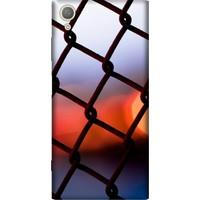 Cekuonline Sony Xperia XA1 Desenli Esnek Silikon Telefon Kapak Kılıf - GünBatımı