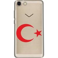 Cekuonline Vestel Venüs V4 Desenli Esnek Silikon Telefon Kapak Kılıf - Canım Türkiyem
