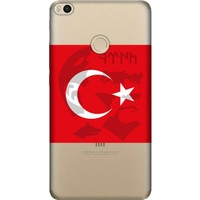 Cekuonline Xiaomi Mi Max 2 Desenli Esnek Silikon Telefon Kapak Kılıf - Göktürk Mustafa Kemal Atatürk