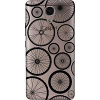 Cekuonline Casper Via P1 Desenli Esnek Silikon Telefon Kapak Kılıf - Pedal Bisiklet