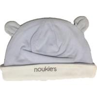 Uygun Bebe Kulaklı Erkek Bebek Likralı Suprem Şapka