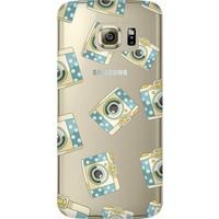Cekuonline Samsung Galaxy S6 Edge Plus Desenli Esnek Silikon Telefon Kapak Kılıf - Fotooo
