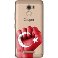 Cekuonline Casper Via P2 Desenli Esnek Silikon Telefon Kapak Kılıf - TC