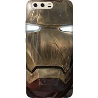 Cekuonline Huawei P10 Plus Desenli Esnek Silikon Telefon Kapak Kılıf - Iron Man Mix