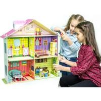 Diytoy Rose Doll House Benim Güzel Evim Büyük Bebek Evi Oyun Evi