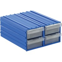Sembol Plastik Set300 4 Çekmeceli Plastik Çekmeceli Kutu
