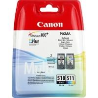 Canon PG-510BK + CL-511 Kartuş (2'li Paket) (MP240-250-490-492-495-499)