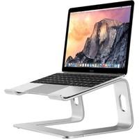 iDock M5 Alüminyum Ergonomik Katlanır Macbook Bilgisayar Standı - Gümüş Renk