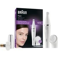 Braun FaceSpa 810 Yüz Epilatörü Ve Temizleme Fırçası Sistemi, Ek Pil İle Birlikte