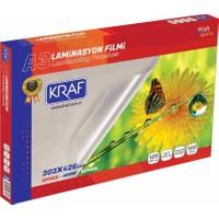 Kraf Laminasyon Filmi Parlak A3 125Mıc 100Lü 2123