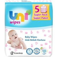Uni Wipes Islak Havlu 5'li Fırsat Paketi / 280 Yaprak