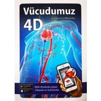 Vücudumuz 4D Canlanıyor Kartları